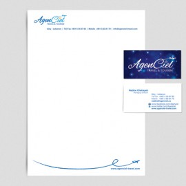 AgenCiel Travel & Tourism - Identity - Lebanon