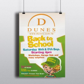 Dunes Center - Poster - Lebanon