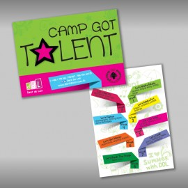 Dent De Lait - Golf Club Summer Camp Flyer - Lebanon
