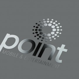 Point Mobile & Entertainment Store Logo - Lebanon