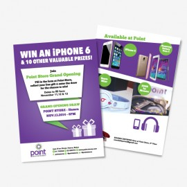 Point Mobile and Entertainment Store Flyer -Lebanon