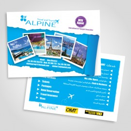 Alpine-Travel Agency Flyer